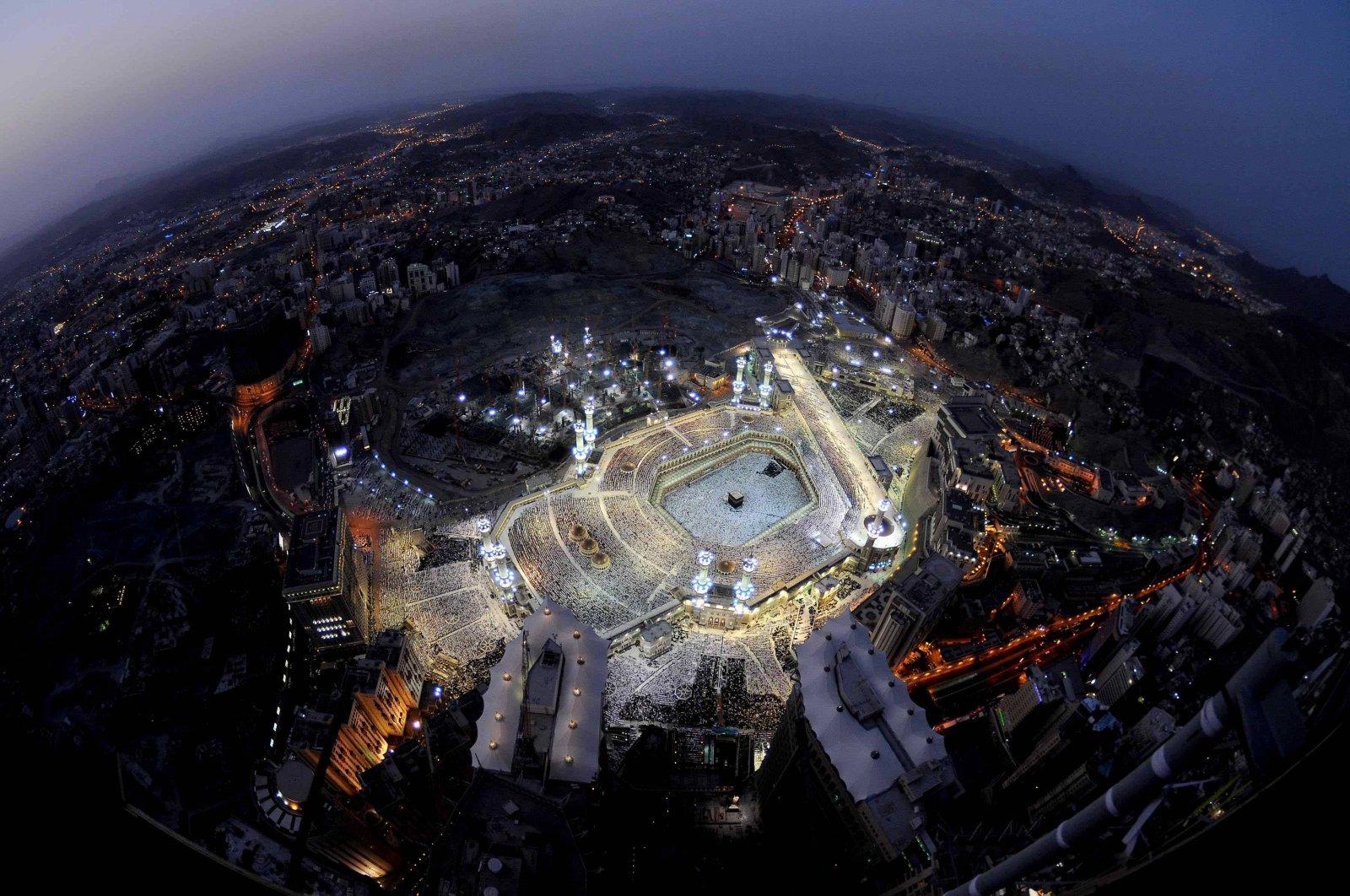 Mekka vanuit de ruimte