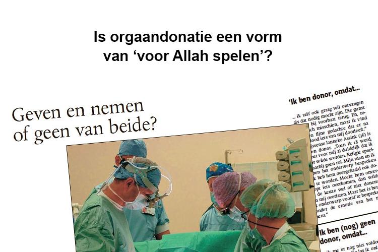 Orgaandonatie halal of haram